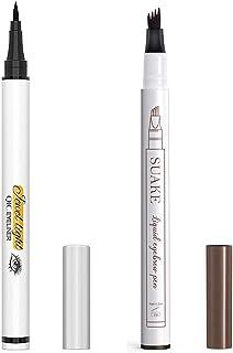 Liquid Eyeliner Pencil and Eyebrow Pen, Waterproof Long-Lasting Eye Liner, Super Slim Gel Eyeliner Makeup, Quick Drying Fo...