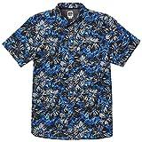 Reef Vamanos SS Shirt Blue - Camisa (M, Blue)