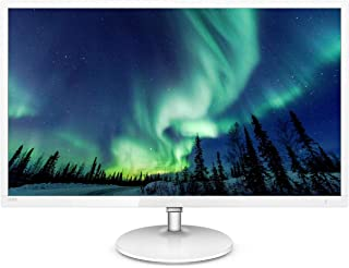 Philips 32 inch ultra slim monitor White, 32 Quad HD 2K LCD Monitor, HDMI, DP, Crystal-clear images, Brilliant colors, ga...