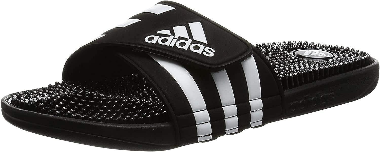 Adidas Adissage Fade Sandales, Homme, Noir, 43 1/3 EU : Adidas ...