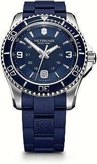 Victorinox - Hombre Maverick - Reloj de Acero Inoxidable de Cuarzo analógico de fabricación Suiza 241603