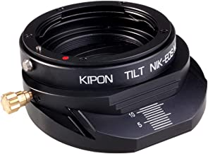 Kipon Tilt-Shift Lens Mount Adapter for Nikon F Mount Lens to Canon EOS M Camera