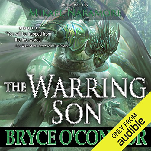 The Warring Son audiobook cover art