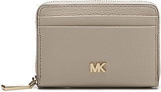 Michael Kors MICHAEL by Mott Light Sand Zip Around Card Case