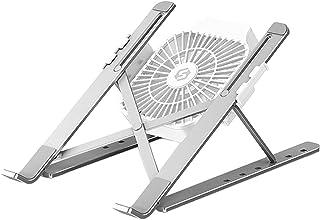 FLAMEER Laptop Stand Riser Computer Tablet Stand Verstelbare Hoek Antislip Ergonomische Opvouwbare Draagbare Desktop Houde...