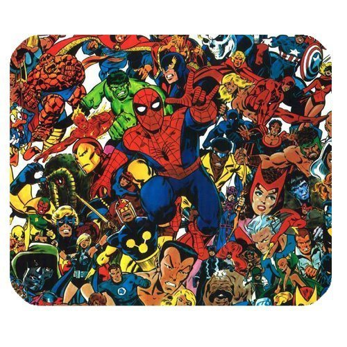 LeonardCustom- Personalized Rectangle Non-Slip Rubber Mousepad Gaming Mouse Pad/Mat- Marvel Superhero Spider-Man -LCMPV476