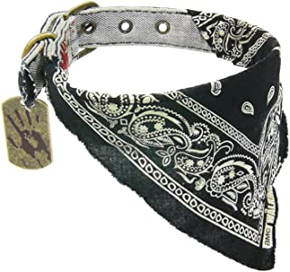 Walking Dead The Daryl Collar with Bandana and Dog Tag (Large)