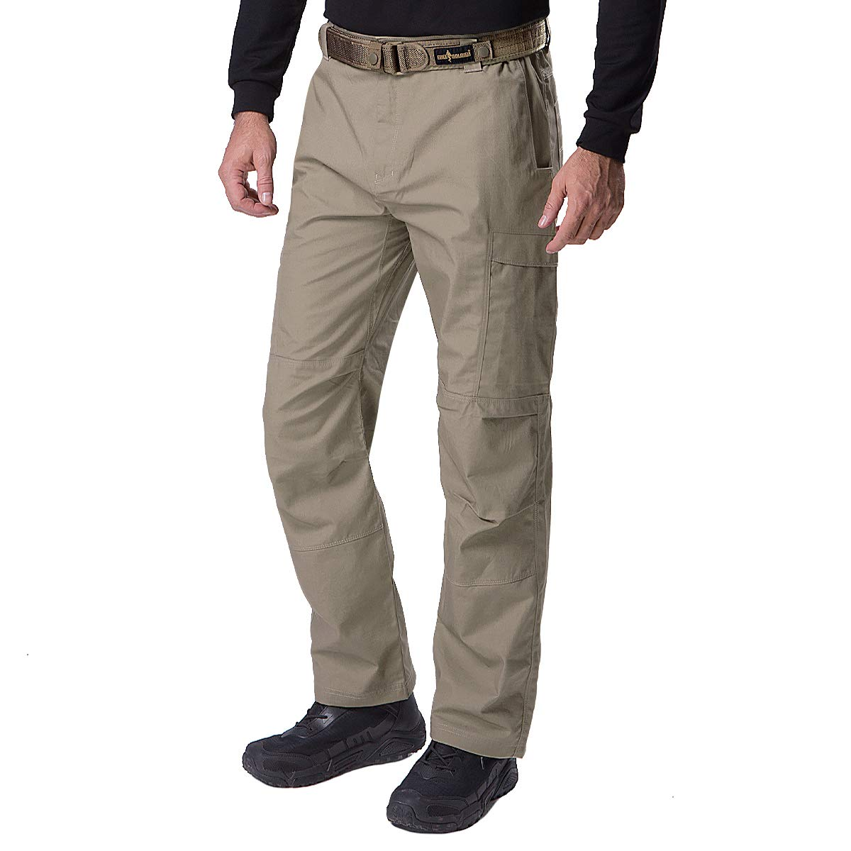 Men/'s Water Resistant Pants Relaxed Tactical Combat Army Work Pants Multi Pocket