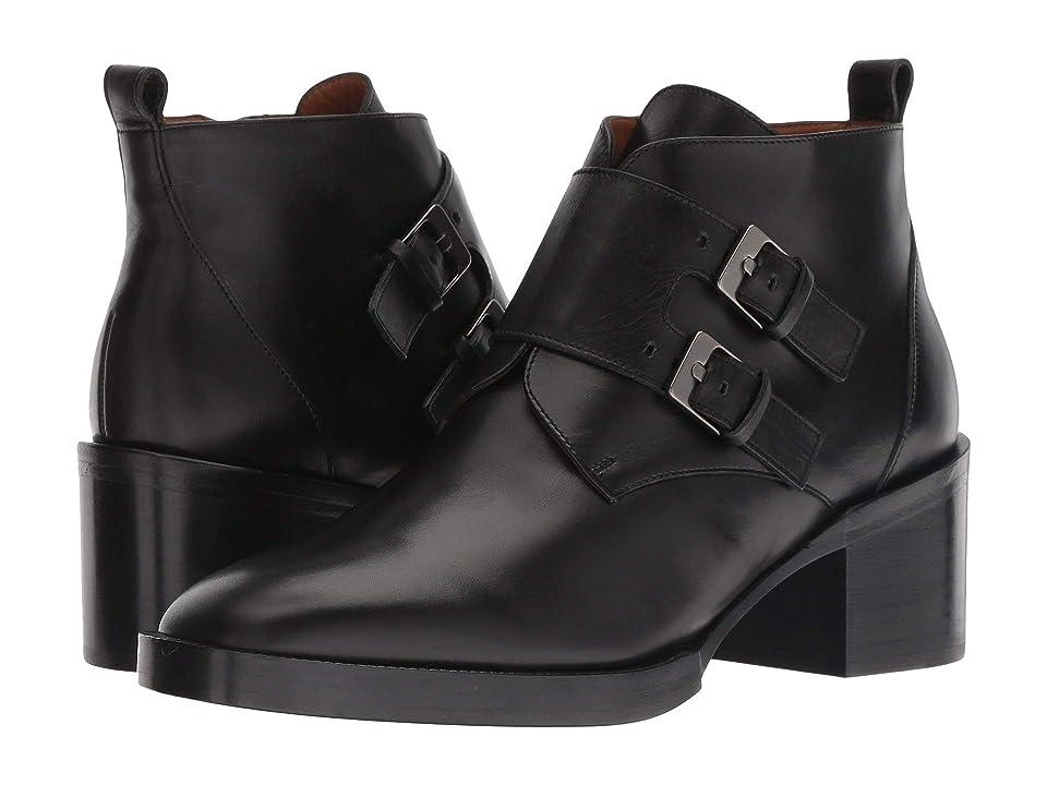 Clergerie Caius (Black Leather Calf) Women