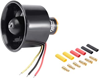 uxcell 55mm 6 Blades Ducted Fan EDF Jet Engine with 3500KV Brushless Motor for RC Airplane
