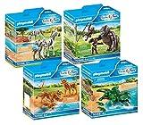 PLAYMOBIL Animales africanos zoo Set 4 piezas: 70356 70358 70359 70360