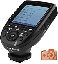 GODOX XPro-C E-TTL 2.4G Wireless High Speed Sync 1/8000s X System High-Speed Flash Trigger for Canon EOS Cameras
