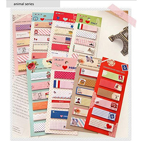 Cute Cartoon Sticky Notes Aniaml Notepad Memoule