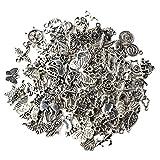 Yifanzi Charms Lot de 100 pendentifs de Style Mixte pour Loisirs créatifs, fêtes, Mariages,...
