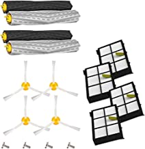 VESNIBA LCC Microfiber Spin Mop Bucket Floor Cleaning System Brush Filter For Irobot Roomba 800/900 Series 800 805