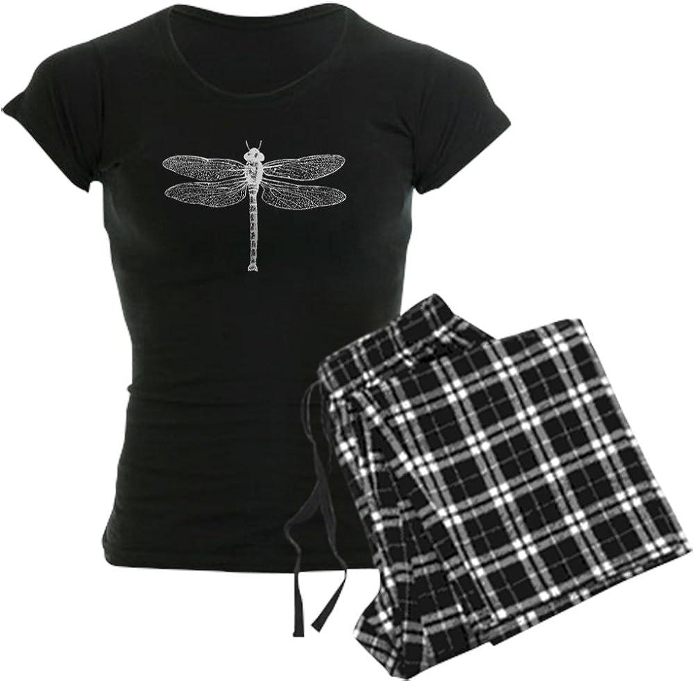 CafePress Dragonfly Our shop most popular Pajamas PJs Women's Denver Mall