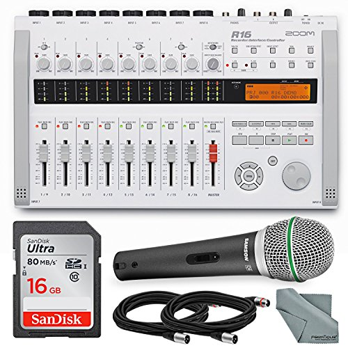 Zoom R16 Multi-Track Recorder & ...