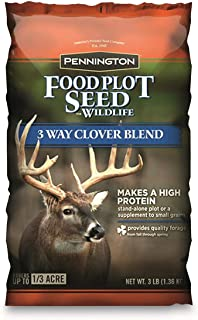 Pennington Food Plot Seed 3 Way Clover Blend