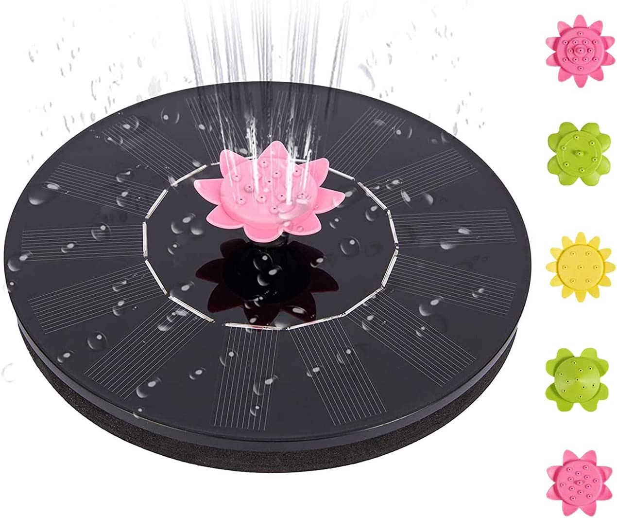 Solar All stores are sold 2021new shipping free shipping Fountain Pump 1.4W Water with Bath Bird for