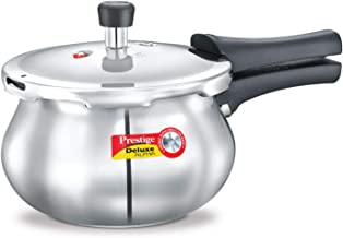 Prestige SS DLX ALPHA 2 L Baby Handi Cooker (MPD20141-20266), Silver, PRDAH2