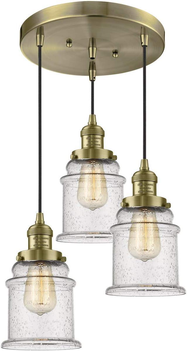 Innovations 211 3-AB-G184 3 Antique Multi-Pendant gift SALENEW very popular! Light Brass