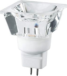Paulmann 28325 Led Diamond Quadro 3W Gu5.3 12V Kryształowa, Ciepła, Biała Lampa Niskiego Napięcia ,Diament ,5 X 3.7 X 5 Cm...