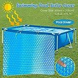 ZM1980s Bâche solaire rectangulaire pour piscine gonflable 1PC 3 x 2 m.