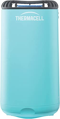 wholesale Thermacell sale Patio Shield outlet online sale Mosquito Repeller, Blue; Highly Effective Mosquito Repellent for Patio; No Candles or Flames, DEET-Free, Scent-Free, Bug Spray Alternative; Includes 12-Hour Refill online