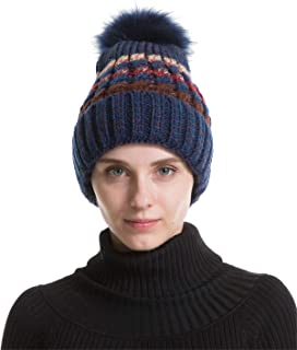 Men Women Winter Beanie Hat - Navy Knit Watch Hat, Stocking Skull Cap Skullcap for Guys, CC Ideal Fashion Accessories
