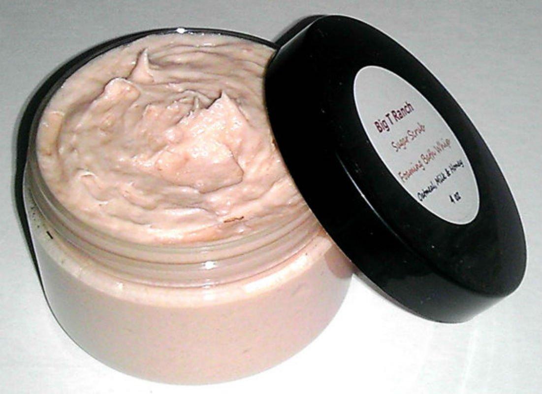 SALENEW very popular Foaming Bath Butter Whipped Soap - oz Ultra-Cheap Deals 4 a Oatmea Jar in