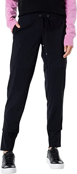 Prime Time Pull-On Jogger Pants with Drawcord Detail