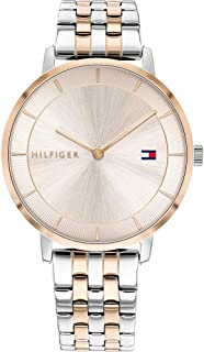 Tommy Hilfiger Womens Analogue Quartz Watch Tea with Stainless Steel Band