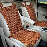 HomDSim Wood Beaded Auto Car Seat Bead Cover,Natural Rosewood Wooden Bead Cool Refreshing Back Massaging...