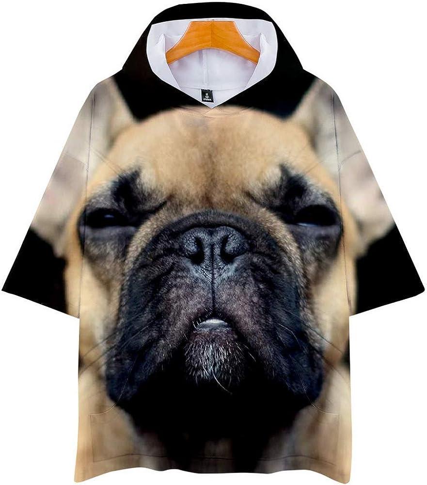 ZEGOO Teen Boys' Girl's 3D Dog Pattern Sweatshirts Pullover Hoodies T Shirt 10-24Y