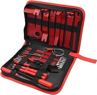 Wakauto Kit de ferramentas de remoção de prendedor, kit de ferramentas de remoção de rádio, kit de ferramentas de remoção ...