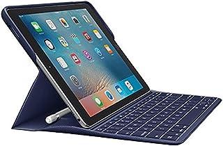 Logitech Create: バックライト付きワイヤレスキーボード スマートコネクター付き -  iPad Pro 9.7インチ (プラム) ブルー 920-008121