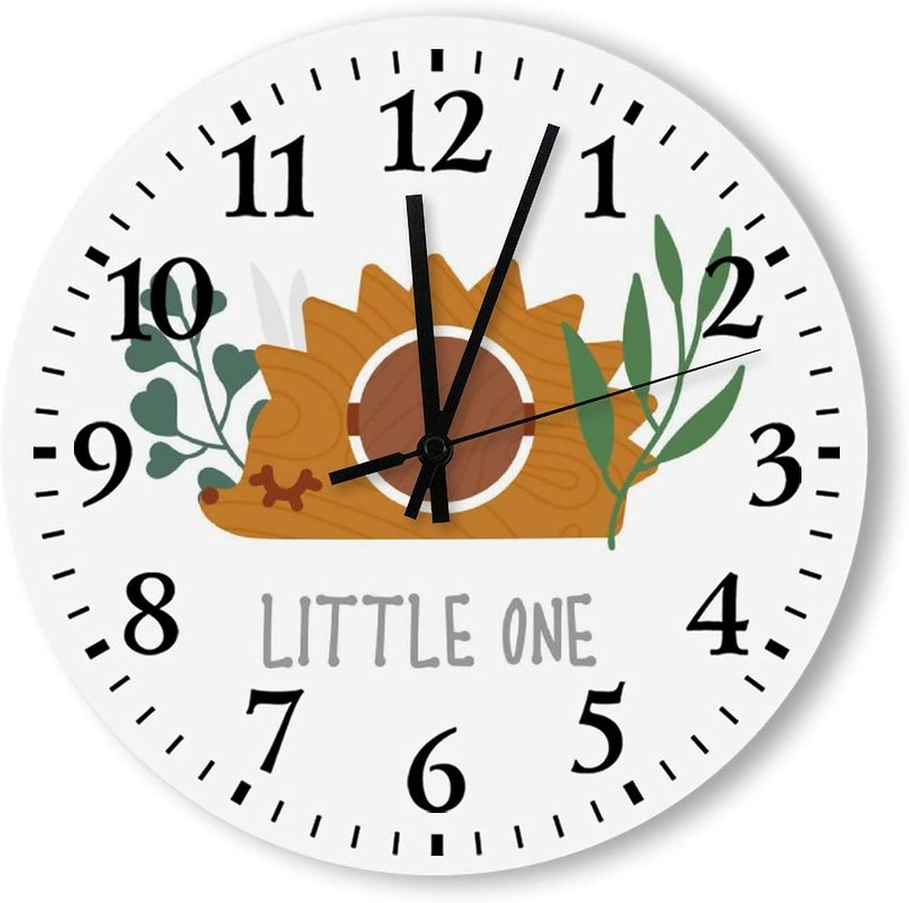 half Battery Operated Wood Wall Clock Silent 15 Cheap Inch Ticking Non Hed