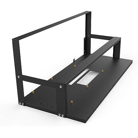 マイニングケースラックマザーボードブラケットオープンマイニングリグフレームETH/ETC / ZECイーサリアムアクセサリー8GPUラック専用ツール