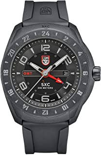 Luminox Outdoor Black Mens Watch XCOR Aerospace (XU.5021/5020 Series) - 200 M Water Resistant Day-and-Date Indication Ultra Light Carbon Case