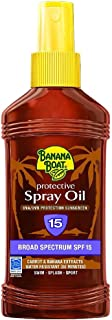 Banana Boat SPF 15 Protective Spray Oil Sunscreen, 236 ml