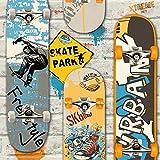 Muriva L29505Skateboards–Papel pintado multicolor