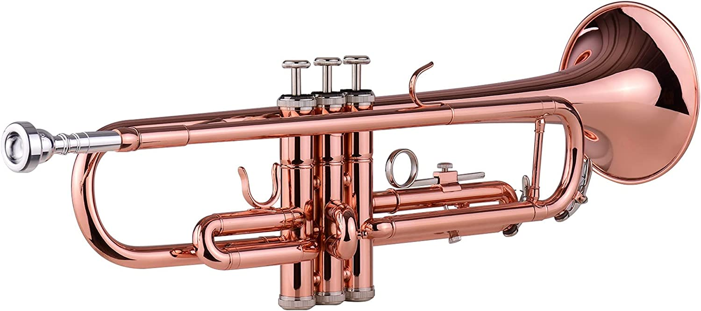 Standard Trumpets Latest item TR-180 Bb Popular Brass Hard with Trumpet Cas