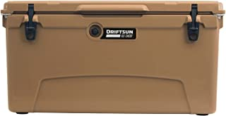 Driftsun 110-Quart Ice Chest, Heavy Duty, High Performance Roto-Molded Commercial Grade Insulated Cooler