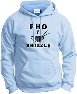 Pho Shizzle Funny Chef Foodie Vegan Vegetarian Pun Hoodie Sweatshirt