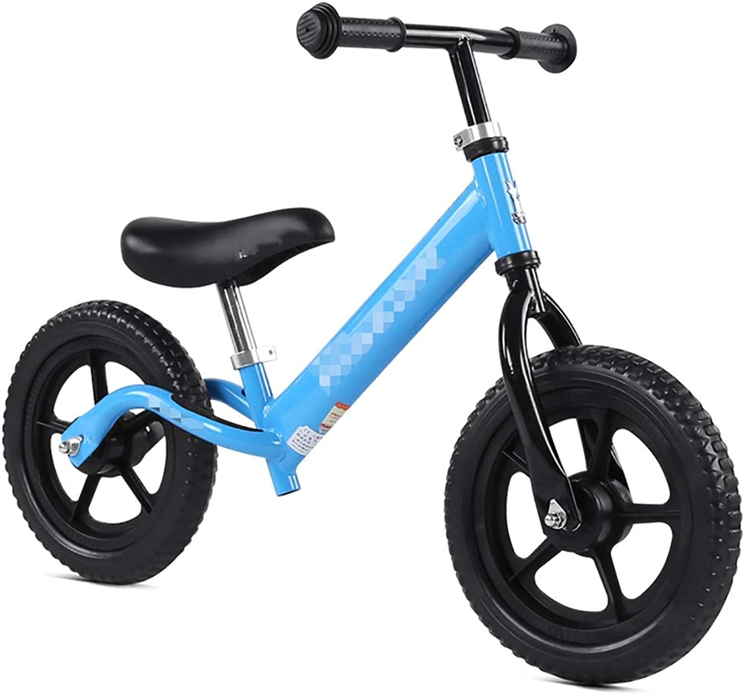 WENJUN balance bike, Classic Lightweight No-Pedal Learn To Ride Pre Bike Balance Bike With Alloy Wheels For Kids,Acupuncture And Moxibustion Surfaces,3 colors ( color   bluee )