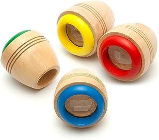 Syorn 木のおもちゃ 万華鏡 木製の万華鏡の筒 不思議 万華鏡作り