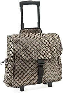 Everest Xtreme Rolling Tote, Brown (brown) - XT200WH