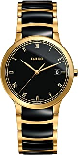 Rado Centrix Black Analog Watch for Men R30527152
