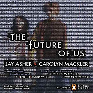 The Future of Us audiobook cover art