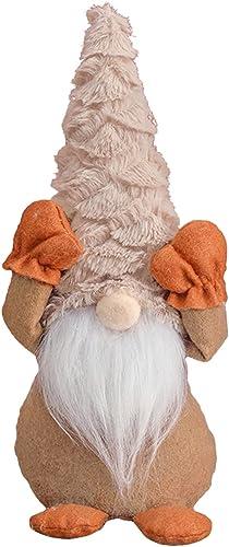 new arrival RiamxwR sale Christmas Dwarf Faceless outlet online sale Doll Dwarf Home Decoration (Brown) outlet online sale